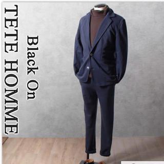 テットオム(TETE HOMME)のきのっち様専用 テットオム 正規品 カルゼ織 スーツ パンツ M → S(スラックス)