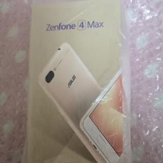 エイスース(ASUS)のエイスース ASUS ZenFone 4 Max サンライトゴールド(スマートフォン本体)