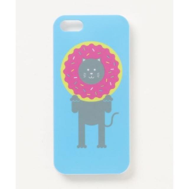 iphone7 ケース 電磁波 | T[iPhoneSE/5s/5スマホケース]HAKKEYOI ドーナツ ねこの通販 by i Meet's shop|ラクマ