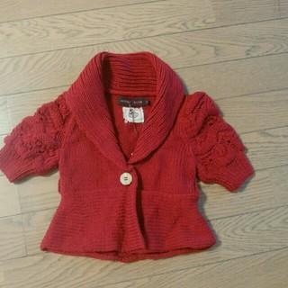 アンティックバティック(Antik batik)の赤ボレロ(カーディガン/ボレロ)