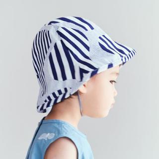 ミナペルホネン(mina perhonen)のミナペルホネン キッズ 帽子(帽子)
