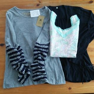 ツモリチサト(TSUMORI CHISATO)のセット(三点)二点新品(Tシャツ(長袖/七分))