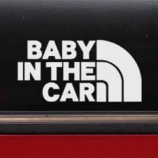 ベビーインカー/BABY IN CAR:レインボーデザイン/WH(車外アクセサリ)