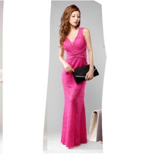 デイジーストア(dazzy store)のdress line キャバ ロング ドレス(ロングドレス)