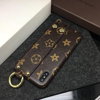 ルイヴィトン(LOUIS VUITTON)のLouis Vuitton iPhone X/Xs 手首サポート機能(iPhoneケース)