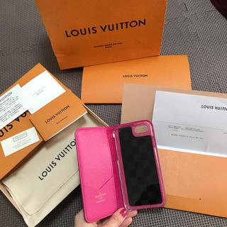 ルイヴィトン(LOUIS VUITTON)のiPhone7.8 ルイヴィトン LV ケース(iPhoneケース)