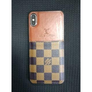 ルイヴィトン(LOUIS VUITTON)のLouis Vuitton iPhoneXS MAXの格子縞の電話ケース カード(iPhoneケース)