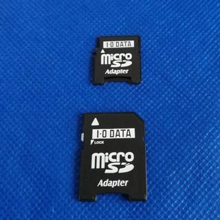 マイクロSDをカメラやPCに接続する際に使うアダプター(PC周辺機器)