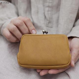 カンミ(Kanmi.)のkanmi カンミふかふかがま口財布(コインケース)