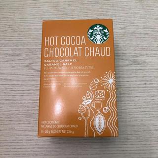 スターバックスコーヒー(Starbucks Coffee)のスターバックス ホットココア ソルティッドキャラメル(コーヒー)