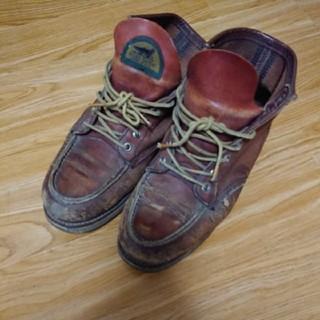 レッドウィング(REDWING)の【ヴィンテージ】1990年代中期半円タグ レッドウイング アイリッシュセター (ブーツ)