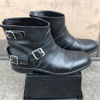 バルマン(BALMAIN)のBALMAIN ストラップジップブーツ(ブーツ)