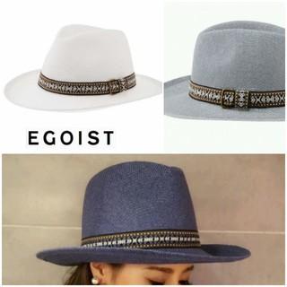 エゴイスト(EGOIST)のEGOIST帽子white(ハット)