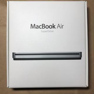 アップル(Apple)のMacBook Air super drive USB CD DVD 読み書き(PC周辺機器)