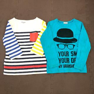 グローバルワーク(GLOBAL WORK)の7分丈Tシャツ、ロングTシャツ2点セット(Tシャツ/カットソー)
