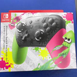 ニンテンドースイッチ(Nintendo Switch)のtanu0708様専用Switch スイッチ プロコン スプラトゥーン仕様 美品(その他)