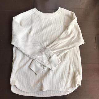 ユニクロ(UNIQLO)のUNIQLO ワッフルロンT(Tシャツ(長袖/七分))