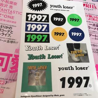 youth loser ステッカー 1997(しおり/ステッカー)