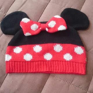ディズニー(Disney)のミニーちゃん帽子(帽子)