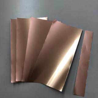 送料無料銅箔t0.05×100×200=4枚+残材(その他)