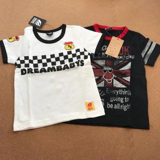 タグつき 2枚セット 子供服 Tシャツ 100cm(Tシャツ/カットソー)