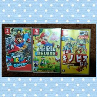 ニンテンドースイッチ(Nintendo Switch)の任天堂スイッチ ソフト まとめ売り(携帯用ゲームソフト)