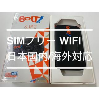 未使用 SIMフリー WiFi Huawei E5577s-321 国内海外対応(その他)