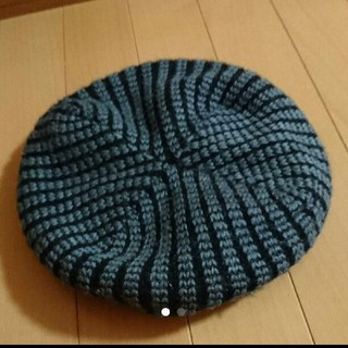 ニット ベレー帽(ハンチング/ベレー帽)