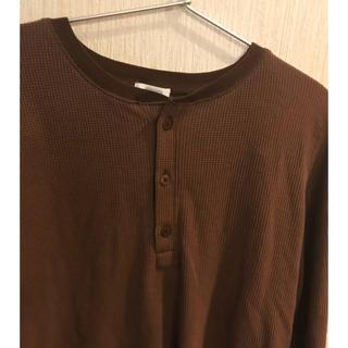 ローリーズファーム(LOWRYS FARM)のローリーズファーム  ヘンリーネックワッフルT(Tシャツ(長袖/七分))