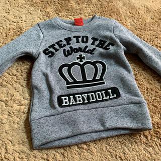 ベビードール(BABYDOLL)のBABYDOLL トレーナー(Tシャツ/カットソー)