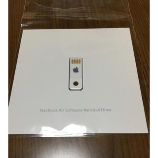 アップル(Apple)の MacBook Air Software Reinstall Drive(PC周辺機器)