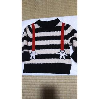 シマムラ(しまむら)のミッキーマウスのボーダーセーター★(ニット/セーター)