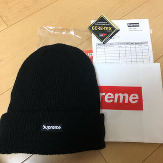 シュプリーム(Supreme)のsupreme ニット帽 シュプリームゴアテックスボックスロゴ(ニット帽/ビーニー)
