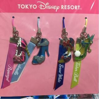 ディズニー(Disney)の新品2014 TDL ディズニープリンセス ストラップ キーホルダー(キーホルダー)