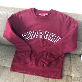 supreme アーチロゴ 美品 サイズS スウェット