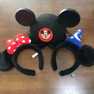 Disney - ディズニーリゾート カチューシャと帽子セット