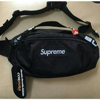 シュプリーム(Supreme)の18ss Supreme Waist Bag black(ウエストポーチ)
