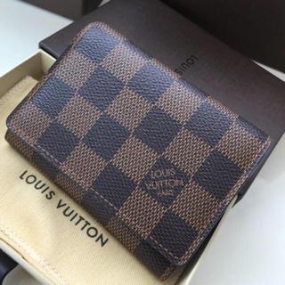 ルイヴィトン(LOUIS VUITTON)の新品・未使用正規品ルイヴィンダミエ名刺入れ カードケース(名刺入れ/定期入れ)