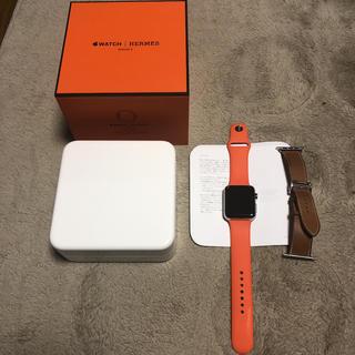 アップル(Apple)のApple Watch3HERMES(その他)