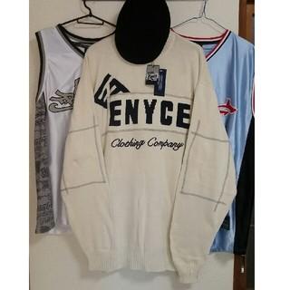 エニーチェ(ENYCE)の[新品、レア物] ENYCE XL ニット 長袖 シャツ セーター(ニット/セーター)