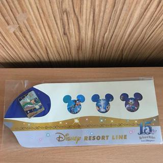 ディズニー(Disney)のディズニーリゾートライン限定バッチ(バッジ/ピンバッジ)