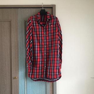 ルシェルブルー(LE CIEL BLEU)のルシェルブルー ネルシャツワンピース チェックシャツ(ミニワンピース)