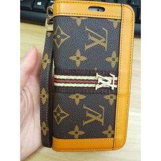 ルイヴィトン(LOUIS VUITTON)のLouis Vuitton iPhone 7plus/8plus 携帯革のカバー(iPhoneケース)