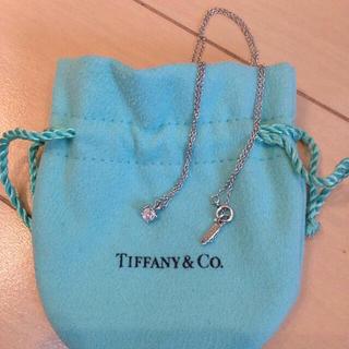 ティファニー(Tiffany & Co.)のtiffany&co.ダイヤ ネックレス(ネックレス)