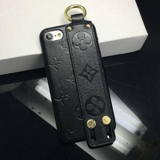 ルイヴィトン(LOUIS VUITTON)のLouis Vuitton iPhone 7/8 手首サポート機能 黑(iPhoneケース)