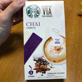 スターバックスコーヒー(Starbucks Coffee)のスターバックス チャイ VIA(コーヒー)