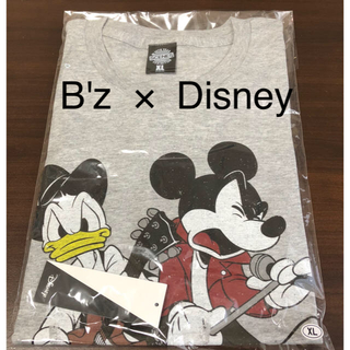 ディズニー(Disney)の【入手困難】B'z/Exhibition ディズニー親子TシャツB(グレイ)(ミュージシャン)