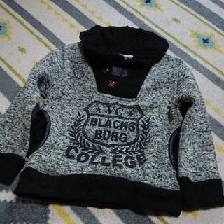 シマムラ(しまむら)のUSED セーター ニット パーカー 110cm(ニット)