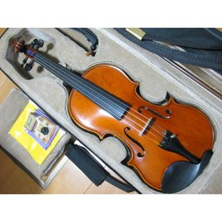 スズキ(スズキ)の【美品】国産 スズキバイオリン No.500 4/4 2004年製 付属品セット(ヴァイオリン)