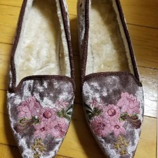 ジーユー(GU)のGUレディース内ボア付き靴サイズM(その他)